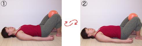 腹式呼吸(仰向け)体操