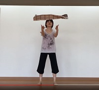 3機能改善体操タオルキャッチ