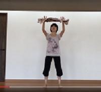 機能改善体操タオルキャッチ